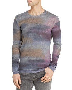 John Varvatos Collection - Watercolor-Print Sweater