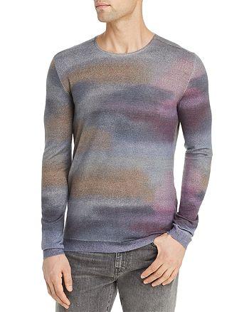John Varvatos Collection - Watercolor-Print Sweater