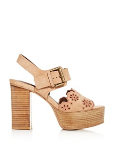 See by Chloé - Women's Krysty High Block-Heel Platform Sandals