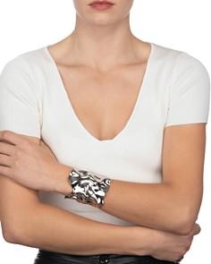 Alexis Bittar - Crumpled Wide Cuff Bracelet