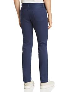 A.P.C. - Petit Standard Textured Slim Straight Fit Pants in Marine