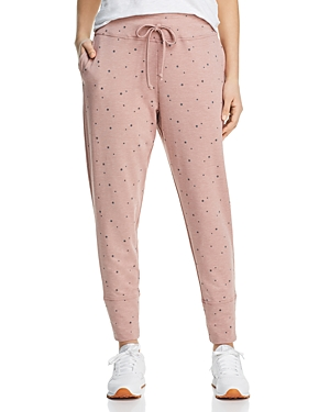 B Collection By Bobeau Pants B COLLECTION BY BOBEAU STAR PRINT JOGGER PANTS