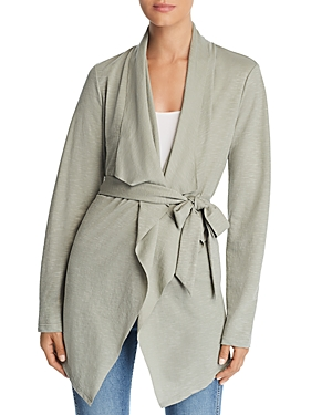 Bagatelle Draped Tie-Front Cardigan