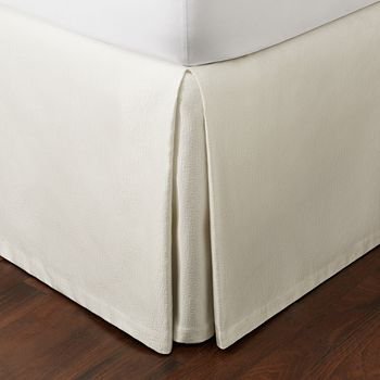 Hudson Park Collection - Luxe Basic Bedskirt, California King - 100% Exclusive