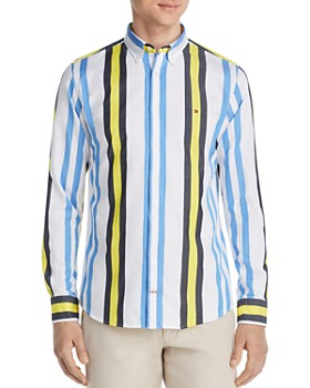Tommy Hilfiger - Multicolored Striped Classic Fit Button-Down Shirt
