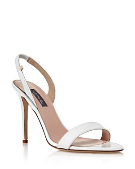 SJP by Sarah Jessica Parker - Women's Eleanor Slingback High-Heel Sandals