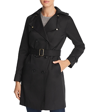 Cole Haan Belted Trench Coat
