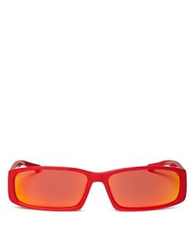 Balenciaga - Women's Rectangular Sunglasses, 60mm