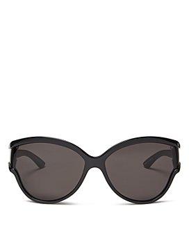 Balenciaga - Women's Oversized Cat Eye Sunglasses, 63mm