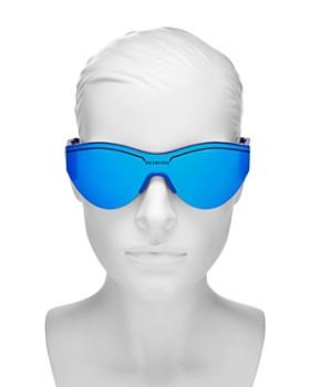Balenciaga - Women's Cat Eye Shield Sunglasses, 99mm