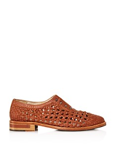 Freda Salvador - Women's Wish Woven Studded Oxfords