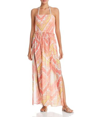 Ramy Brook Printed Calista Dress Swim Cover-Up