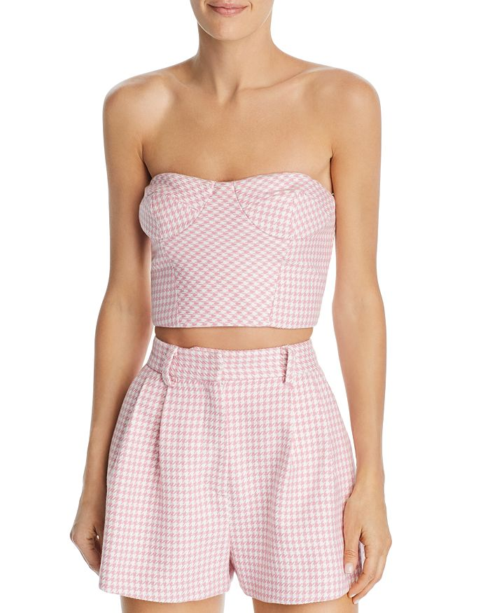 Bec & Bridge - Check You Later Cropped Top