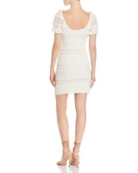 Show Me Your MuMu - Ruffle Lace Mini Dress