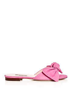 SJP by Sarah Jessica Parker - Women's Finn Bow Slide Sandals