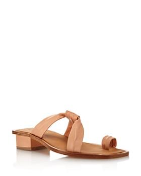 LoQ - Women's Pau Leather Sandals