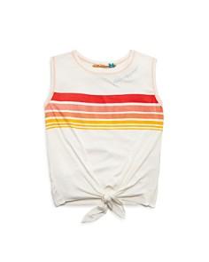 Vintage Havana - Girls' Striped Tie-Front Tank - Big Kid