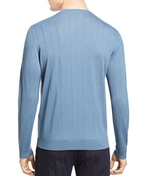 Armani - Knit Virgin Wool Slim Fit Sweater