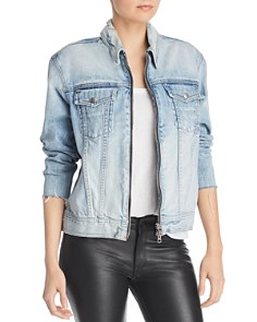 rag & bone/JEAN - Denim Zip Jacket