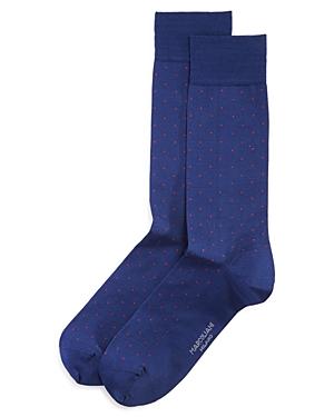 Lisle Pin-Dot Socks