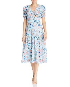 Shoshanna - Lucio Floral Midi Dress - 100% Exclusive