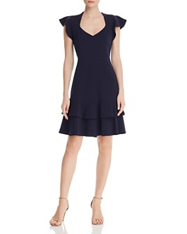 nanette Nanette Lepore - Flutter-Sleeve Dress