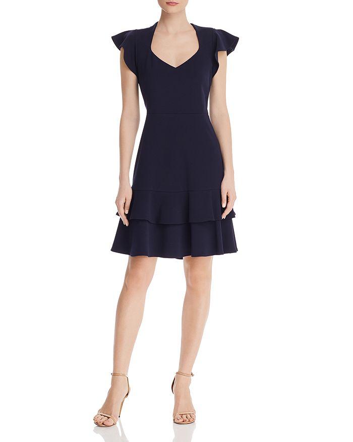 nanette Nanette Lepore - Flutter-Sleeve Dress