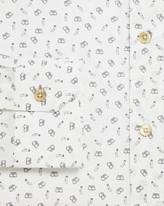 Paul Smith - Sock & Underwear Print Slim Fit Dress Shirt