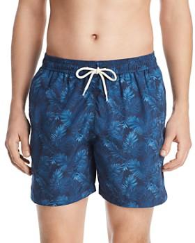 2b63c1e639 Barbour - Tropical-Print Swim Shorts ...