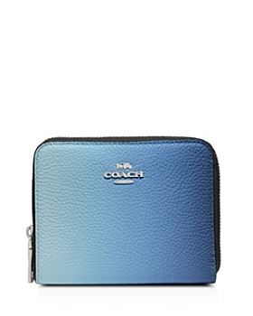 COACH - Ombré Small Zip-Around Wallet