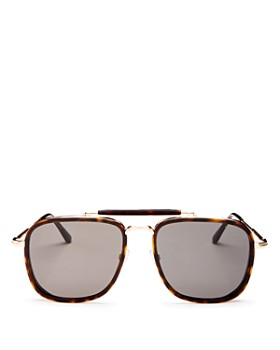 dddeb0235d64 Tom Ford - Men s Huck Brow Bar Aviator Sunglasses