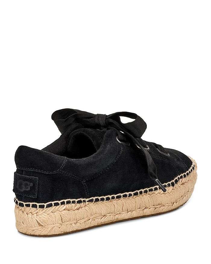 ec5f2389879 Women's Brianna Suede Espadrille Sneakers