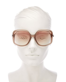Jimmy Choo - Women's Amada Square Sunglasses, 56mm