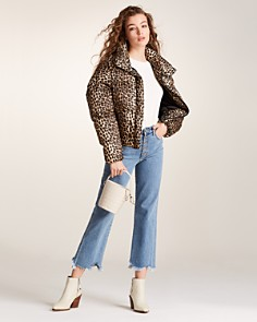 Apparis - Paula Leopard-Print Puffer Coat