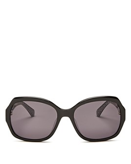 kate spade new york - Women's Amberlynn Square Sunglasses, 57mm