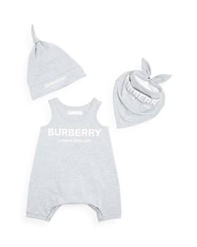 Burberry - Unisex Logo Print 3-Piece Gift Set - Baby