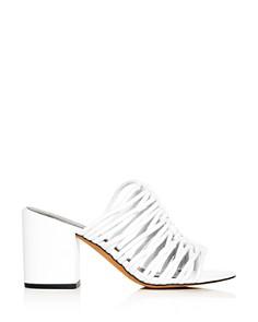 Rebecca Minkoff - Women's Calanthe Block-Heel Slide Sandals