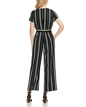 ef10cebd7026 VINCE CAMUTO - Belted Striped Jumpsuit VINCE CAMUTO - Belted Striped  Jumpsuit