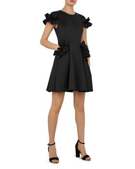 c3a68b667a3 Ted Baker - Luuciee Ruffle-Trimmed Dress ...