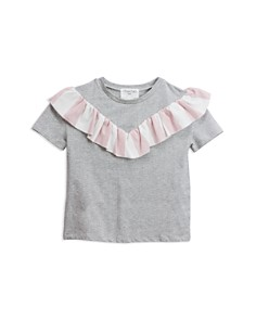 Sovereign Code - Girls' Cynthia Ruffle Top - Little Kid, Big Kid