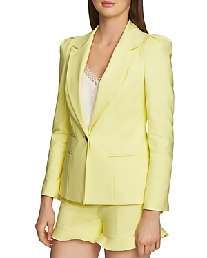 1.state Fitted Single-Button Blazer