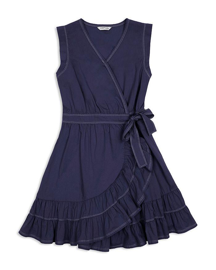 Habitual Kids - Girls' Vanessa Ruffled Wrap Dress - Big Kid