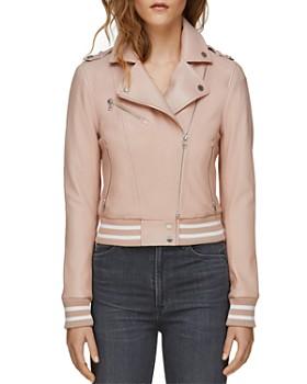 Soia & Kyo - Arisa Moto Leather Jacket