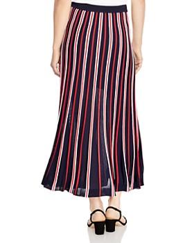 2e98b13c701c ... Sandro - Loukas Pleated Striped Midi Skirt