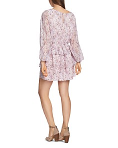 1.STATE - Bloomsbury Floral Ruffle Dress