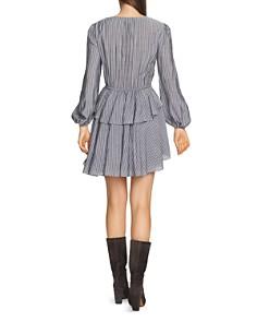 1.STATE - Striped Ruffle Dress