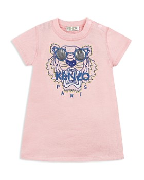 Kenzo - Girls' Tiger & Logo Fleece T-Shirt Dress - Baby