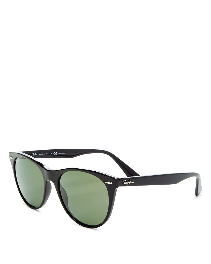 c151fe0b4 Ray-Ban Women's Polarized Round Sunglasses, 55mm   Bloomingdale's