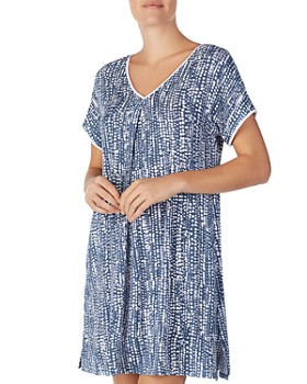 Donna Karan - Abstract-Dot Sleepshirt ... e318bd4b4