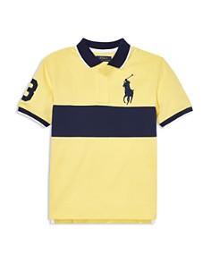 Ralph Lauren - Boys' Big Pony Cotton Mesh Polo Shirt - Big Kid
